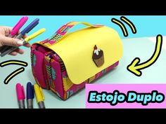 ESTOJO DUPLO ou Necessaire em EVA - DIY - Segredos de Aline - YouTube