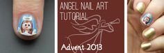 Advent Tutorial: Angel | She Who Does Nails