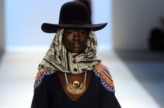 "Mara Hoffman's fall collection inspiration was—wait for it—""South American Shaman Cowboys."" Talk about specific!"