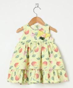 Vestido Póssum Feminino Bebê Maçã Verde