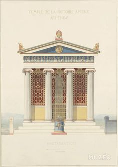 """classicalmonuments: """" Temple of Athena Nike Athens' Acropolis, Greece 420 BCE Stylobate: 8.27 m x 5.64 m; height: ca. 4 m. The Temple of Athena Nike was named after the Greek goddess, Athena Nike. The temple is the earliest fully Ionic temple on the..."""