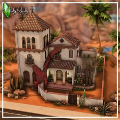 Spanish House, Spanish Style, Sims 4 Build, Sims House, Tuscan Style, Simple Living, Planer, Oasis, House Design
