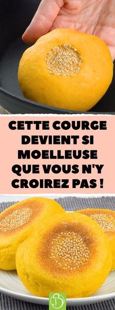 Cette courge devient si moelleuse que vous n'y croirez pas ! #bonap #courge #pain #recette #butternut #citrouille