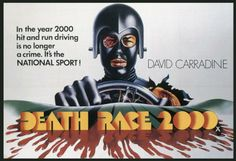 """One of the best movies to come from Roger Corman's production company. It includes a who's who of B-movie players. And, it's completely ridiculous. It features David Carradine fresh from his hit TV series """"Kung Fu"""" and a very young Sylvester Stallone.  http://www.theoriginalunderground.com/"""