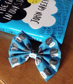 TFIOS The Fault in Our Stars Inspired Hair Bow by StylishGeek