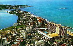 Vista del Condado,año 1960,San Juan,Puerto Rico.