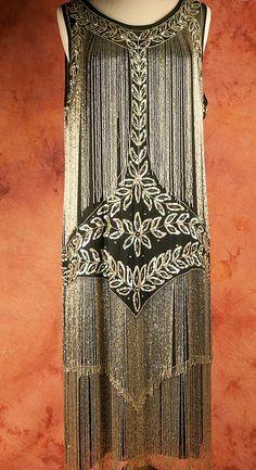 AMAZING Beaded Flapper dress, 1920's