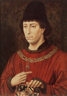 After Rogier van der Weyden - Portrait of Charles the Bold, Duke of Burgundy