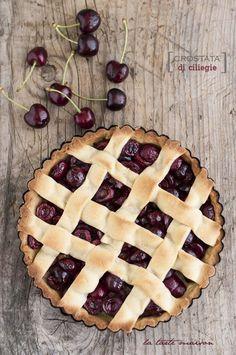 Crostata di ciliegie | La tarte maison...semplice e perfetta anche per #boglasses