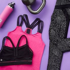 Best way to spend your #WorkoutWednesday? By shopping new performance outfits! (Link in bio) #flatlay #flatlayapp #flatlays www.theflatlay.com