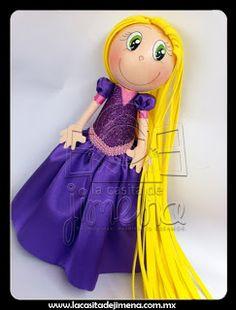 Rapunzel Fofucha