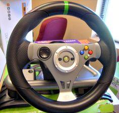 XBOX 360 Wireless Racing Wheel set in box on GovLiquidation!
