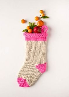 Knit Before Christmas Stocking   Purl Soho Knit Stockings, Knitted Christmas Stockings, Christmas Stocking Pattern, Christmas Patterns, Knitting Socks, Hand Knitting, Start Knitting, Knit Socks, Knitting Needles