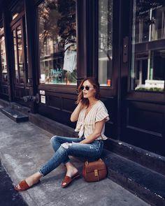 3,340 отметок «Нравится», 57 комментариев — Charlotte Bridgeman | Blogger (@winstonandwillow) в Instagram: «New on the blog: the perfect pair of jeans for summer in the city with @silverjeansco. Click the…»