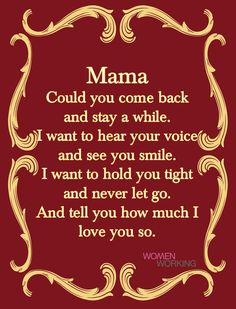 She Quotes, Advice Quotes, Positive Affirmations Quotes, Affirmation Quotes, Mom I Miss You, I Love You, Granted Quotes, Come Back And Stay, Mom In Heaven