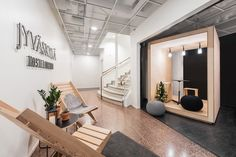 A former bank in downtown Jyväskylä, Finland, has been converted into the modern Hostel Jyväskylä by Studio Puisto Architects making use of the empty 1953 building. Modern Small House Design, Small Modern Home, Modern Interior Design, Houses In Poland, Tokyo Design, Large Bedroom, Hostel, Urban Design, Architecture Design