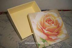 Caixa Rosa Marfim - R$ 15,00 Cod. PCX 023