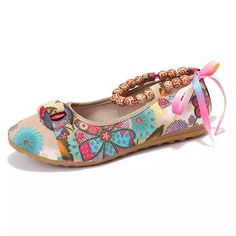 Beaded Bowknot Vintage Lace Up Folkways Flat Loafers is cheap and comfortable. There are other cheap women flats and loafers online. Loafers Online, Lace Up Heels, Vintage Lace, Womens Flats, Chic Outfits, Latest Fashion Trends, Loafer Flats, Slip On, Flat Shoes
