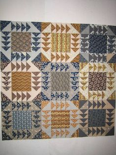 44 Ideas Patchwork Quilting Patterns Flying Geese For 2019 Patchwork Quilt Patterns, Modern Quilt Patterns, Quilting Patterns, Easy Quilts, Small Quilts, Scrappy Quilts, Half Square Triangle Quilts, Square Quilt, Quilting Projects