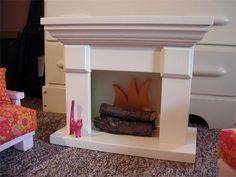 Fireplace  : The generously-sized fireplace measures 18 inches wide by 14½ tall by 8½ deep.