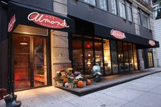 Almond Restaurant - Chelsea, NY. Eeep! So cute.