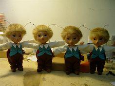 "Loutka ""Brouček"" Teddy Bear, Toys, Animals, Activity Toys, Animaux, Animal, Animales, Toy, Teddybear"