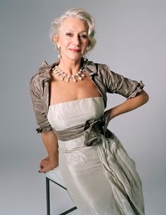 Helen Mirren is so great. She's at the height of fame in her 60's
