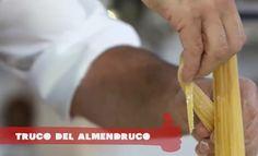Los trucos del almendruco para amasar y cortar la pasta fresca