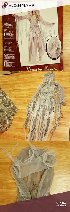 Haunting Beauty Costume Comes with dress,  hooded shrug and waist chain. California Costumes Other