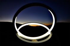 INFINITY, intersections light  #infinity #light #sunset #art #lamp #led #sculptural #design #emotions #mountain #sibillini #marche #italy #recanati