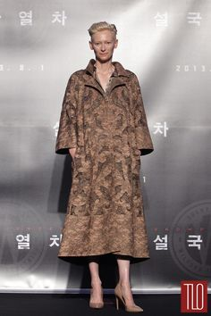 Tilda Swinton Valentino Couture Double Shot | Tom & Lorenzo Fabulous & Opinionated