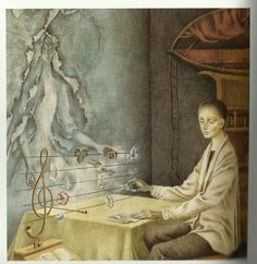 Remedios Varo Uranga (1908~1963, Spanish born Mexican para-surrealist painter and anarchist)