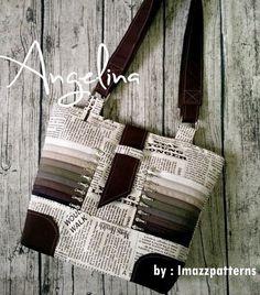 The Angelina Purse PDF Sewing Pattern