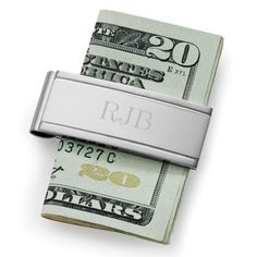 Engraved Stainless Steel Money Clip for Groomsmen | Groomsmen Gifts