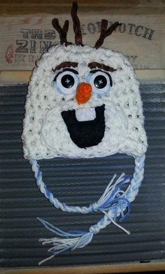 Handmade frozen olaf hat disney elsa anna snowman   olaf+hat++Snowman++snow+man+Disney+Frozen+by+BellaMariesboutique,+$18.00
