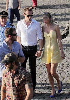 Taylor Swift and Tom Hiddleston in Italy on 27 June 2016