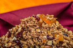 Start your morning with this Sunny Granola! Made with local Kansas ingredients from From the Land of Kansas members! Create A Recipe, Recipe Using, Get Healthy, Healthy Recipes, State Fair Food, Breakfast Dishes, Granola, Kansas, Morning Breakfast