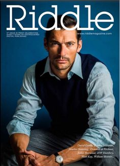 DIARY OF A CLOTHESHORSE: DAVID GANDY RIDDLE: FIRST PRINT EDITION
