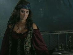 Penelope Cruz as Angelica in Pirates of the Caribbean