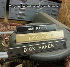 An Unfortunate Name