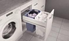 Diseñar el espacio de lavado y planchado en un rincón multifunción