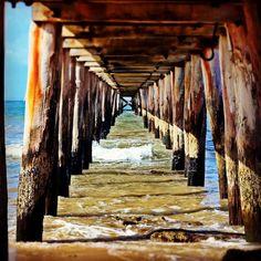 Point Lonsdale Pier#PointLonsdale #ocean #pier#pylons#underthepier #oceanbluephotos by ocean_blue_photos http://ift.tt/1EBJopQ