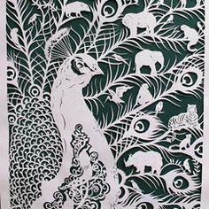 Dandelion Seedheads Paper Cut Art | Mafia, Dandelions and Art pieces