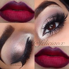 Glam fall look ✨ Eyes, love that Lips Color