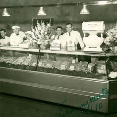 Our dashing butchers of 1940! And don't forget tonight is GAME NIGHT! From 6-9 come by for dinner, drinks, games and make memories worthy of a future #tbt !#grandcentralmarket #GCM