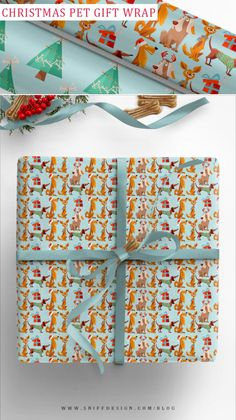 """NEW 20/"""" x 30/"""" 9 Sheets Cute Animal Heart Theme Gift Wrapping Paper Baby Wrap"""