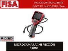 MICROCAMARA INSPECCIÓN 37888. Memoria interna 235 MB, Grabador de imagenes de 17mm- FERRETERIA INDUSTRIAL -FISA S.A.S Carrera 25 # 17 - 64 Teléfono: 201 05 55 www.fisa.com.co/ Twitter:@FISA_Colombia Facebook: Ferreteria Industrial FISA Colombia