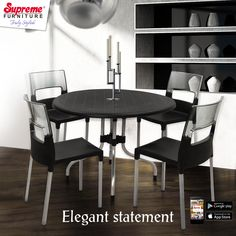 Supreme furnitures add the essential element of elegance to your lifestyle.
