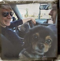 Ross Lynch with Calum Worthy and Pixie