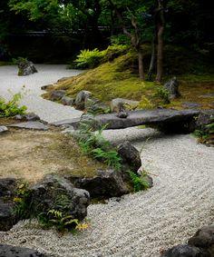 zen rock garden, Matsushima/禅庭園、松島